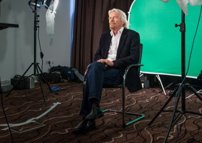 Richard Branson Shoot