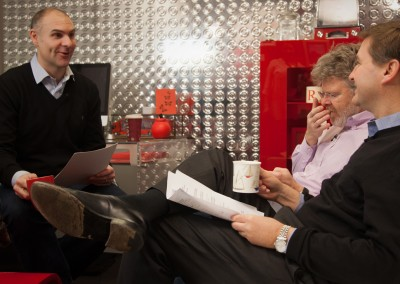 Virgin Media Financial Review Shoot